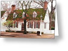 Colonial House Greeting Card
