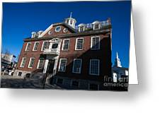 Colony House Newport Rhode Island Greeting Card