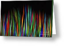 Color Abstract 3.31 Greeting Card