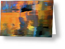 Color Abstraction Lxxii Greeting Card