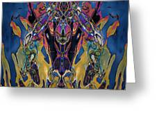 Color Abstraction Xxi Greeting Card