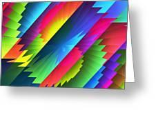 Color Blast Greeting Card