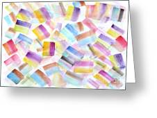 Color Burst 2 Greeting Card