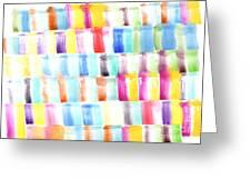 Color Burst 3 Greeting Card