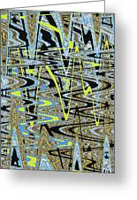 Color Combo Abstraction Greeting Card