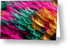 Color Curls Greeting Card