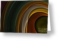 Color Curves Greeting Card