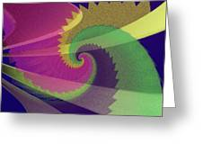 Color Designs Greeting Card by Anthony Caruso
