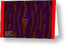 Color Fantasia Catus 1 No. 3 H A Greeting Card