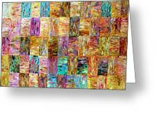 Color Fields Greeting Card