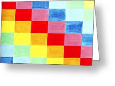 Color Flag Greeting Card
