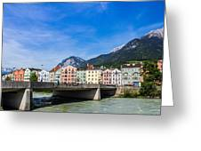 Color In Innsbruck Greeting Card