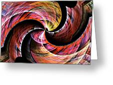 Color In Motion Greeting Card