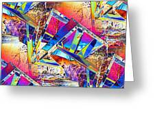 Color Me Abstract Greeting Card