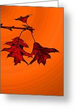 Color Me Autumn 2 Greeting Card