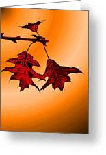 Color Me Autumn 3 Greeting Card