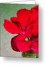 Color Me Red Greeting Card