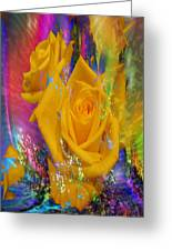 Color Me With Love Greeting Card