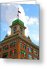 Color Of City Hall Greeting Card