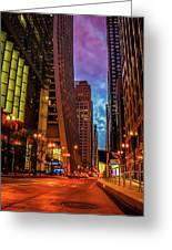 Color Of Night Greeting Card