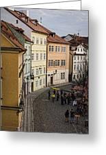 Color Of Prague Greeting Card