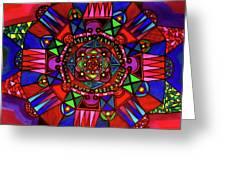 Color Paluzza II Greeting Card