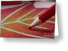 Color Pencil Drawing Greeting Card