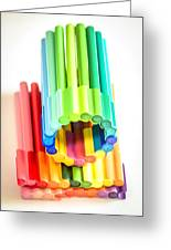 Color Pens 10 Greeting Card