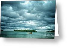 Color Play Before Storm Greeting Card