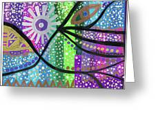 Color Rumble Greeting Card