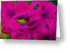 Color Schemes Greeting Card