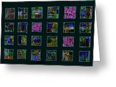 Color Square 2 Greeting Card