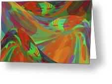 Color Swells Greeting Card