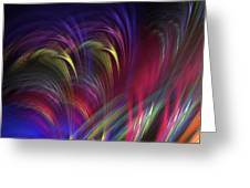 Color Vibes Greeting Card