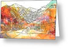 Colorado 01 Greeting Card