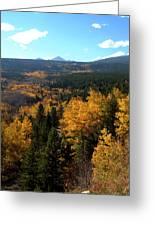 Colorado Autumn - 2 Greeting Card