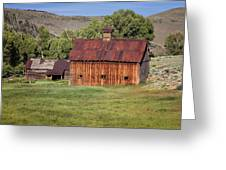 Colorado Barn 5817 Greeting Card