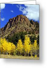 Colorado Butte Greeting Card