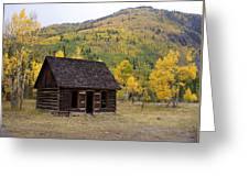 Colorado Cabin Greeting Card