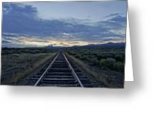 Colorado Daybreak Greeting Card