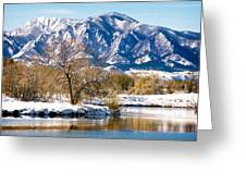 Colorado Flatirons 2 Greeting Card