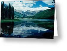 Colorado Lake Greeting Card