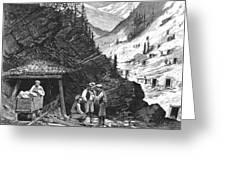 Colorado: Mining, 1874 Greeting Card by Granger