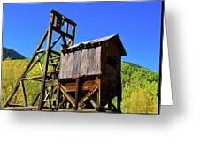 Colorado Mining Greeting Card