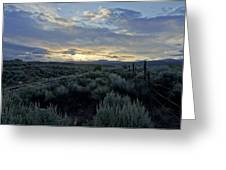 Colorado Morning Greeting Card