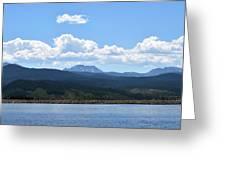 Colorado Mountain Lake Greeting Card