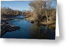 Colorado Mountain Stream Greeting Card