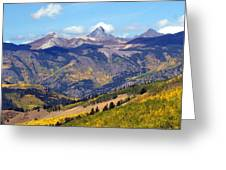 Colorado Mountains 1 Greeting Card