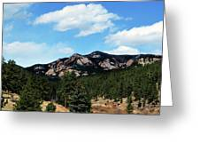 Colorado Mountains Greeting Card