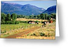 Colorado Ranch Greeting Card